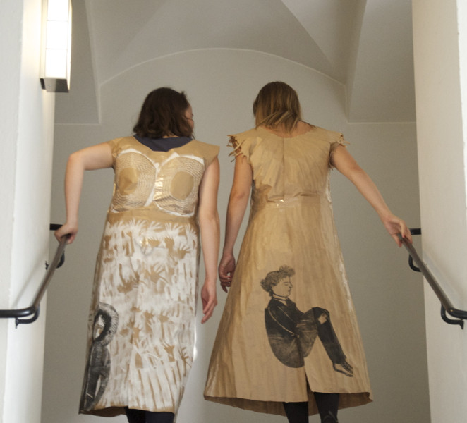 paper dresses in Uppsala
